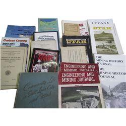 Utah History and Mining Books (18)  (86634)