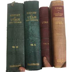 Utah History Books (4)  (86664)