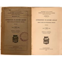 Dept. of Interior Geological Survey on Coal and Oil  (116410)