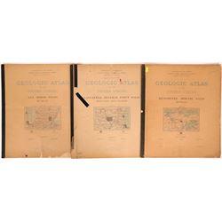 Great Lakes Copper-Iron Region USGS Geologic Folios (5)  (112322)