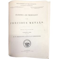 Statistics and Technology of the Precious Metals  (86649)