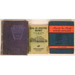 Three Different Mining Equipment Catalogs  (115496)