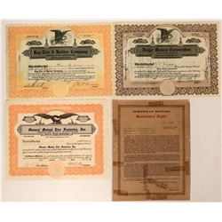 Automotive Group of Certificates (Deppe, Northway, Ray Tire)  (116473)
