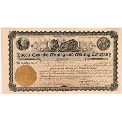 Yucca Cyanide Mining and Milling Company Stock  (119418)
