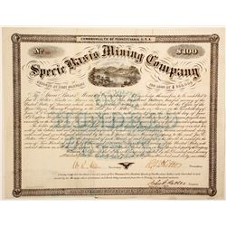 Specie Basis Mining Co. bond  (91027)