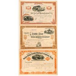 Esmeralda County Mining Company Stock Certs  (117185)