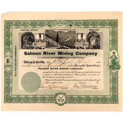 Salmon River Mining Stock, Contact, Nevada Issued to P.F. Dupont  (118594)