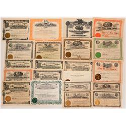 Washington Mining Stock Certificates  (117875)