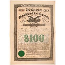 Bessemer Consolidated Iron Company Bond, 1888  (111956)