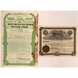 Yukon Territory Mining Stocks (2)  (116958)