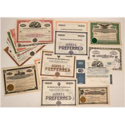 Hawaii Stock Certificates  (116948)