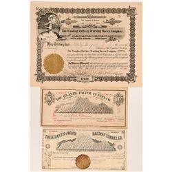 Denver Colorado Railroad Stocks  (117883)