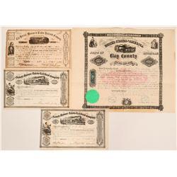 Michigan Railroad Stock Collection  (117858)