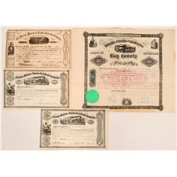 Michigan Railroad Stock Collection  (117858)