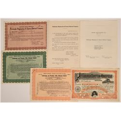 Pennsylvania Railroad Stock Collection  (117878)