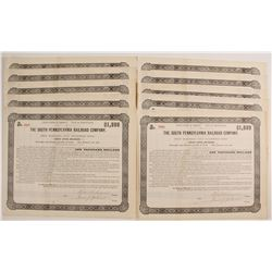 The South Pennsylvania Railroad Company Bond Certificates  (80518)