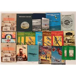 Air Race History- Books for the Aviation Collector ( six hardbacks and  about a dozen softcovers) an
