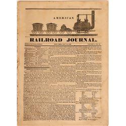 American Railroad Journal, Volume 1, No. 20  (115616)