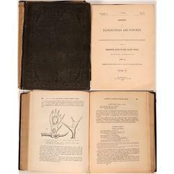 Railroad Survey; Volume 8.  Zoology, 1857.  (119492)