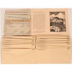 Nevada County Narrow Gauge Railroad receipts  (108700)