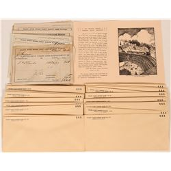 Nevada County Narrow Gauge Railroad receipts  (108700)