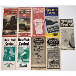 New York Central and Pennsylvania Railroad Time Tables (9)  (124288)