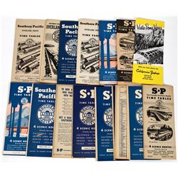 Southern Pacific Railroad Time Tables 1937-1953  (124279)