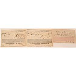 Wells Fargo Receipts (3)  (108693)