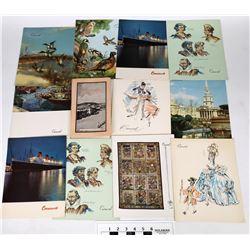 Book on Los Angeles & Queen Mary Menus  (124530)