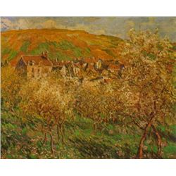 Claude Monet - Blooming Apple Trees