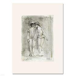 Two Dancers by Hibel (1917-2014)