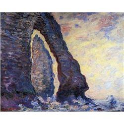 Claude Monet - La Porte d'Aval and the Needle at Etretat