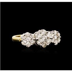 18KT Yellow Gold 1.80 ctw Diamond Ring