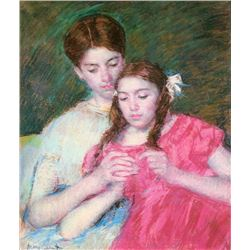 Mary Cassatt - Woman And Girl