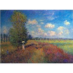 Claude Monet - Poppy Field in Summer
