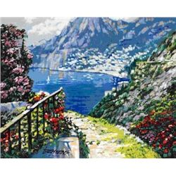 "Howard Behrens ""Road to Positano"""
