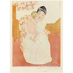 Mary Cassatt - Motherly Tenderness