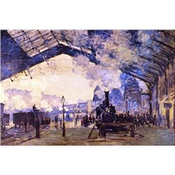 Claude Monet - Old St Lazarre Station