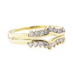 0.70 ctw Diamond Ring Guard - 14KT Yellow Gold