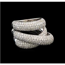 14KT White Gold 2.68 ctw Diamond Ring