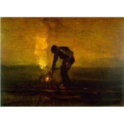 Van Gogh - Burning Weeds