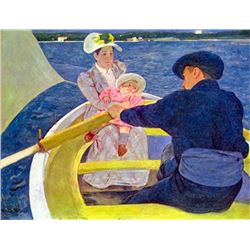 Mary Cassatt - The Boat Travel