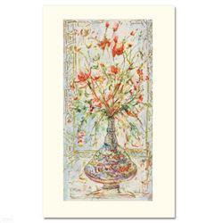 Poinciana Blossoms by Hibel (1917-2014)