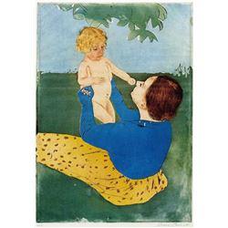 Mary Cassatt - Under The Tree