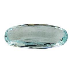 7.37 ct.Natural Oval Cut Aquamarine