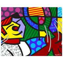 Tennis Match by Britto, Romero