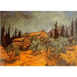Van Gogh - Wooden Sheds