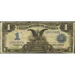 1899 $1 Black Eagle Silver Certificate