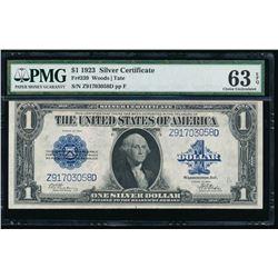 1923 $1 Silver Certificate PMG 63EPQ