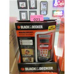 2 New Black & Decker Distance Measurers